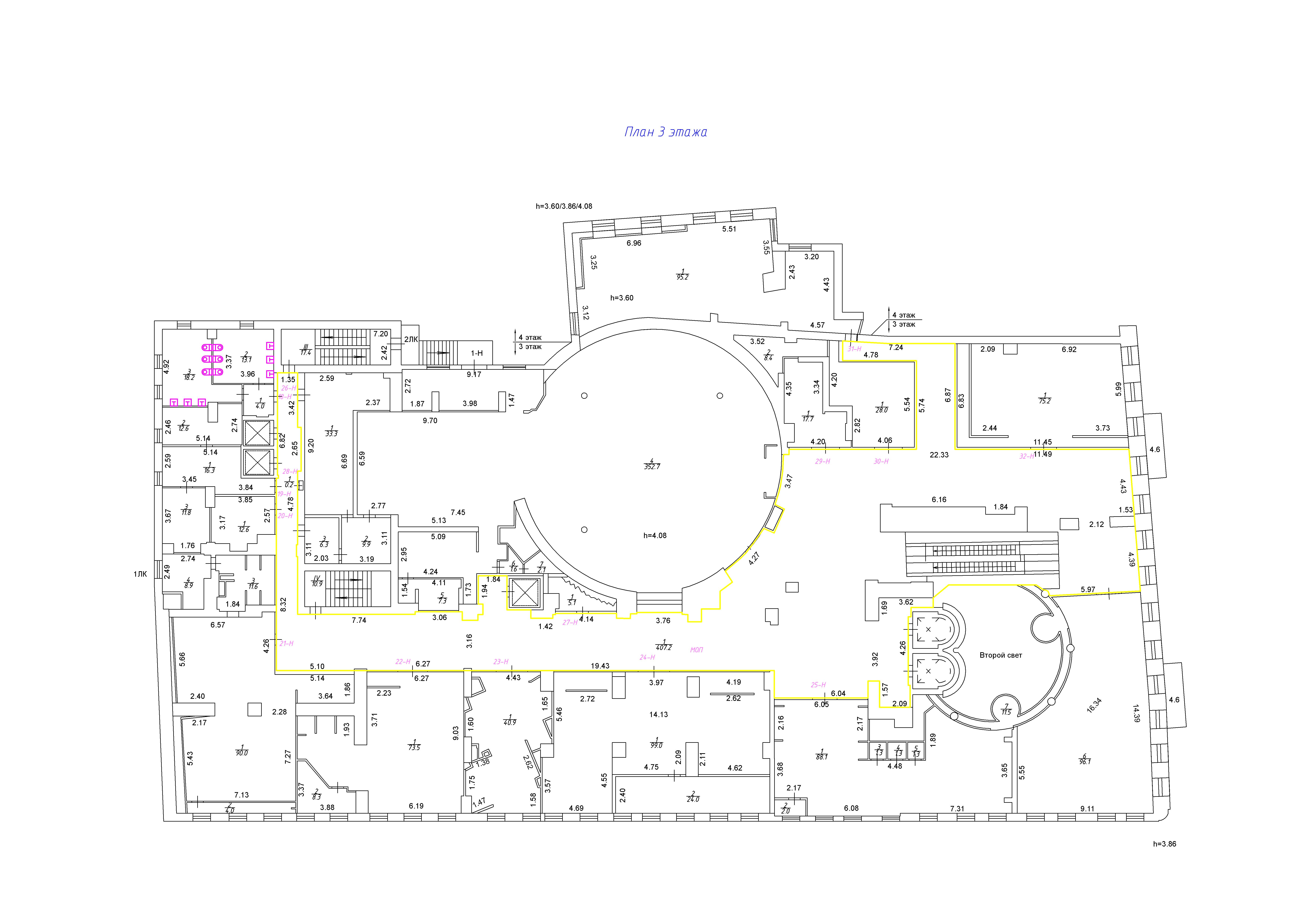 Образец вспомогательного помещения в торговом центре в центре Санкт-Петербурга. Кадастровая стоимость была уменьшена в 5 раз.