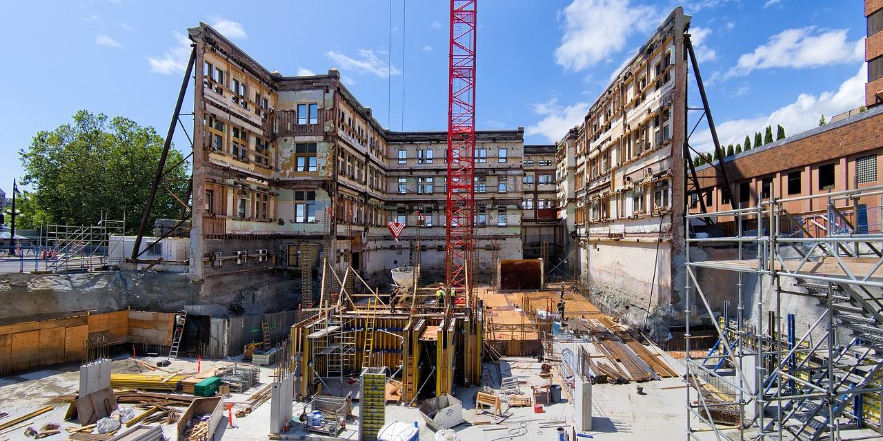 реконструкция строительных объектов