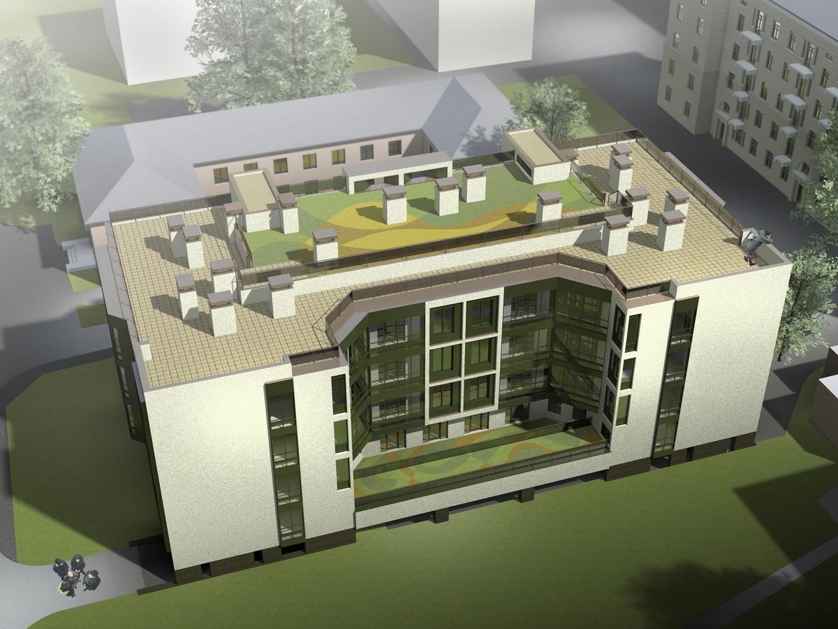 АГР описывает внешний облик нового или реконструируемого здания, особенности его планировки и архитектуры.