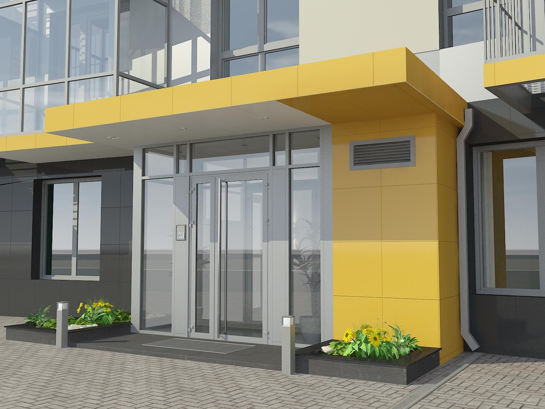 Новая входная группа может потребоваться для перевода жилого помещения в нежилое, открытие магазина.